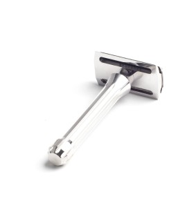 Maquinilla de afeitar clásica BLACKLAND Blackbird open comb – Machined acabado pulido
