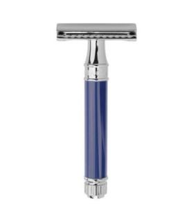 Rasoio da barba EDWIN JAGGER cromo, blu DE83bl