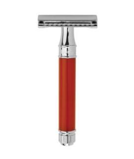 Rasoio da barba EDWIN JAGGER cromo, rosso DE81bl